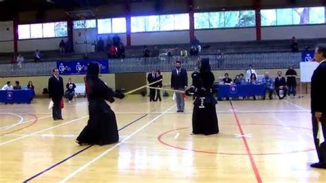 Final masculina individual Campeonato de Madrid de Kendo ...