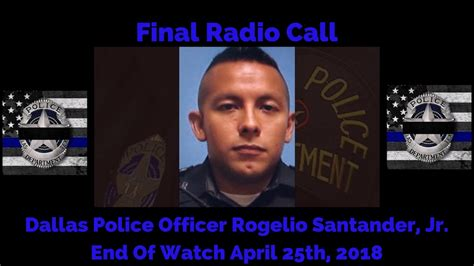 Final Radio Call For Dallas Police Department Officer ...