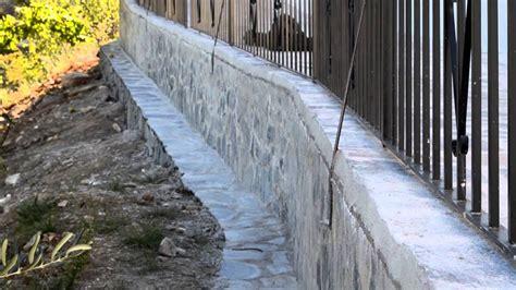FINALIZA LA CONSTRUCCIÓN DE UN MURO DE CONTENCIÓN EN ...