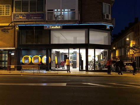 Finalizada la Oficina Store de Caixa Plaza de Castilla ...