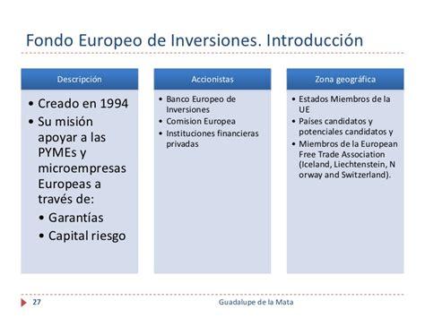 Financiación Internacional para Instituciones de ...
