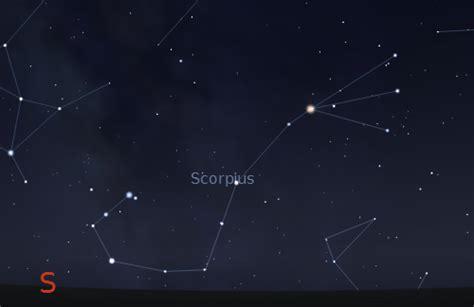 Find Antares and the Scorpius Constellation  Scorpio ...