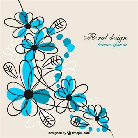 Fiore blu disegno libero per il download | Scaricare ...