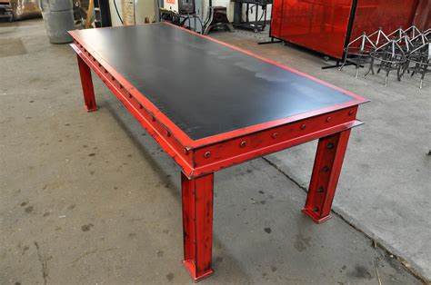 Firehouse Table – Vintage Industrial Furniture