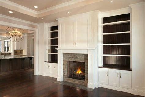 Fireplace, hidden tv, cabinets   Living Room   Pinterest ...