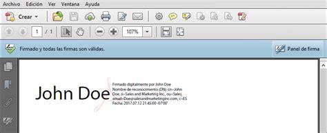 Firma de documentos PDF