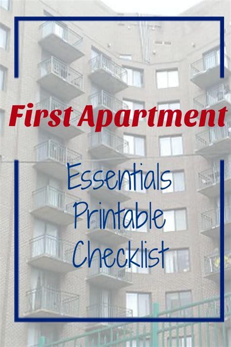 First Apartment Household Essentials Checklist   Frank ...