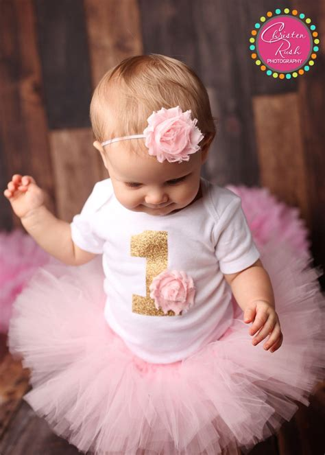 First Birthday Outfit Girl, Girl 1st Bday Outfit, First ...