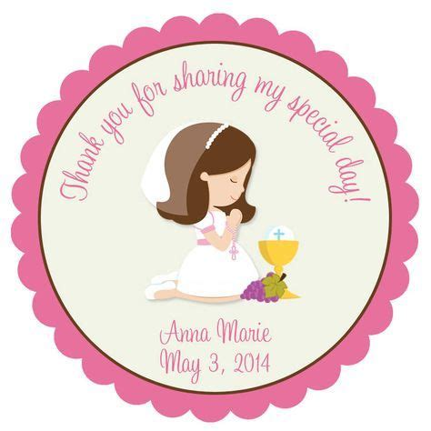 First Communion Sticker First Communion Favor Tag. Holy ...
