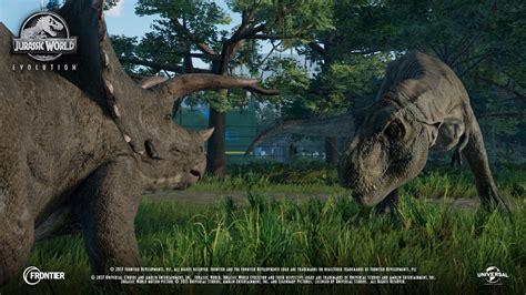 First In Game Jurassic World Evolution Footage Roars ...