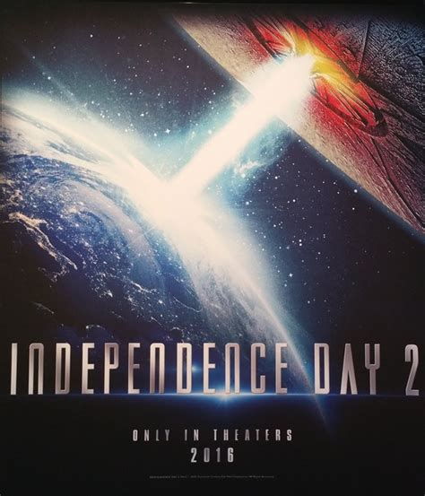 First  Independence Day 2  Poster & Synopsis Delivers a ...