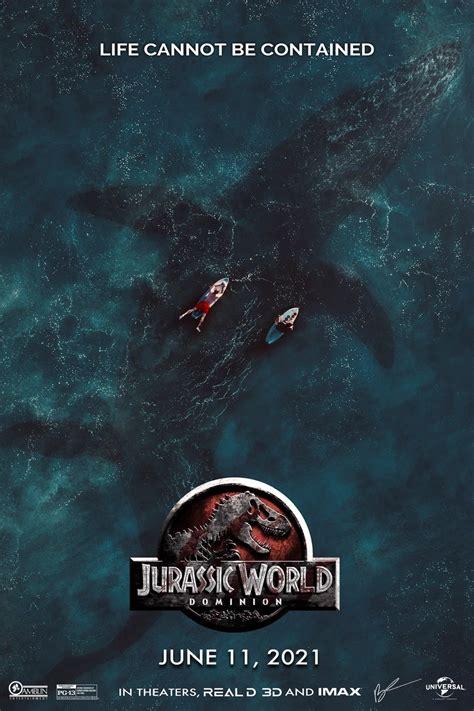 First poster for Jurassic World: Dominion : JurassicPark