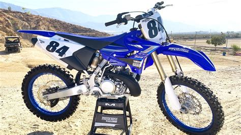 First Ride 2020 Yamaha YZ250 2 Stroke   Motocross Action ...