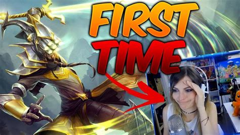 FIRST TIME YI... y pasa esto. | Cristinini   YouTube