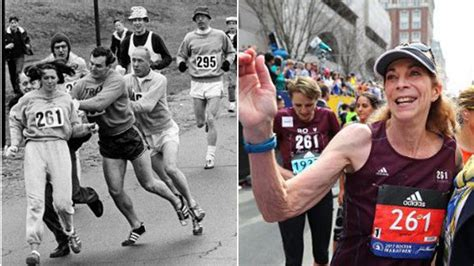 First Woman to Finish Boston Marathon Does It Again, 50 ...