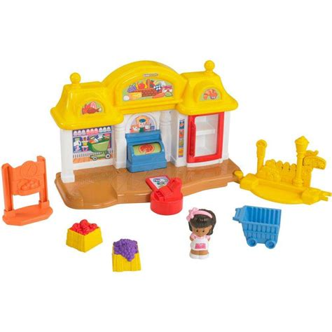 Fisher Price Little People Corner Market Play Set ...