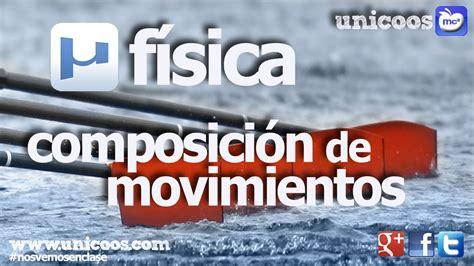 FISICA Composicion de movimientos MRU SECUNDARIA  4ºESO ...