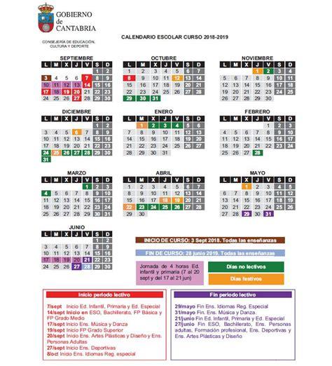 Física y Química   Ibán Garrido: Calendario escolar de ...