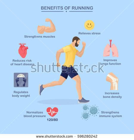 Fitness Infographics Elements Vector Illustration Healthy ...