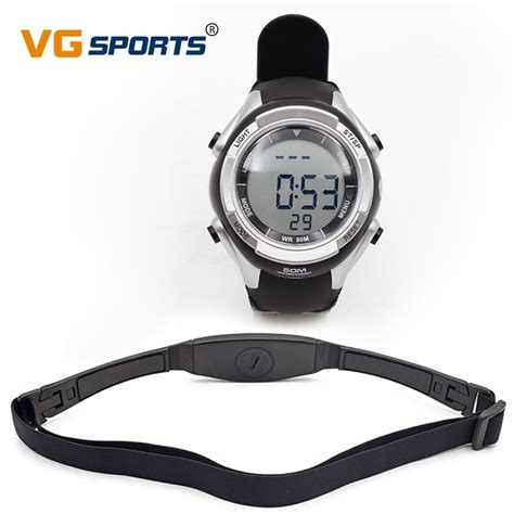 Fitness Pulse Calories Wireless Heart Rate Monitor Digital ...