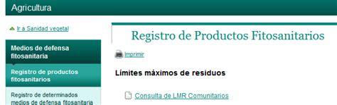 FITOSANITARIOS: usos autorizados y LMRs   blog links de ...
