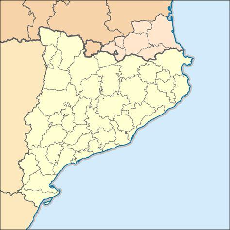 Fitxer:Mapa de localització a les comarques catalanes.svg ...