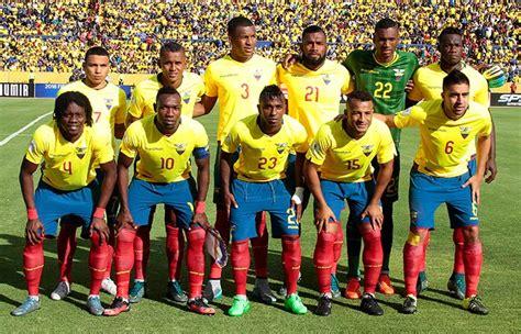 Fixture y resultados de Ecuador en la Copa América ...