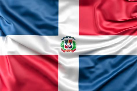 Flag of dominican republic Photo | Free Download