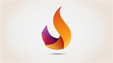 Flame 3D logo   Illustrator Free download | Speed Art ...