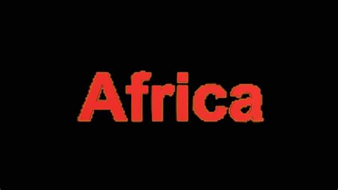 Flame Africa Word. Stock Footage Video 4127911   Shutterstock
