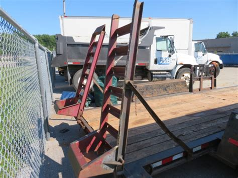 FLATBED TRAILER, 2004 CONTRAIL TOWMASTER MDL. C 12, TANDEM ...