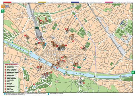 Florence Map   Detailed City and Metro Maps of Florence ...