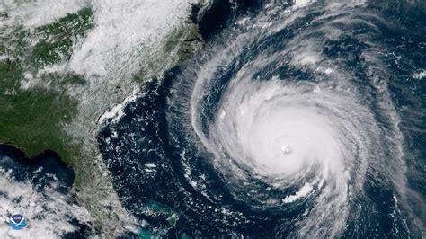 Florence se acerca a EEUU: Las impactantes imágenes ...
