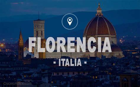 Florencia   Italia #1 TOP Guía para visitar la ciudad