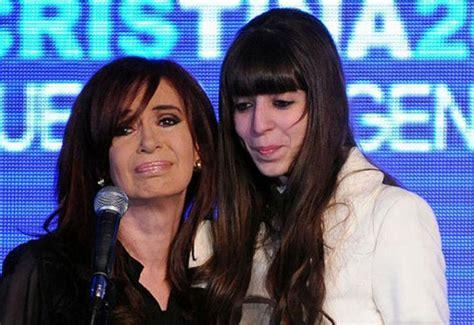 Florencia Kirchner:  Tuvimos una presidenta mujer ...