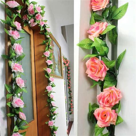 Flores artificiales de seda Rose para un partido de la ...
