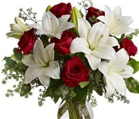 Flores Blancas y rojas | Floristería en Barcelona, flores ...