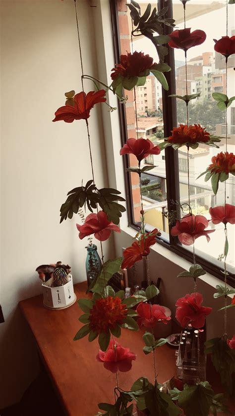 FLORES EN TUS PAREDES | Flores artificiales, Decoración de ...
