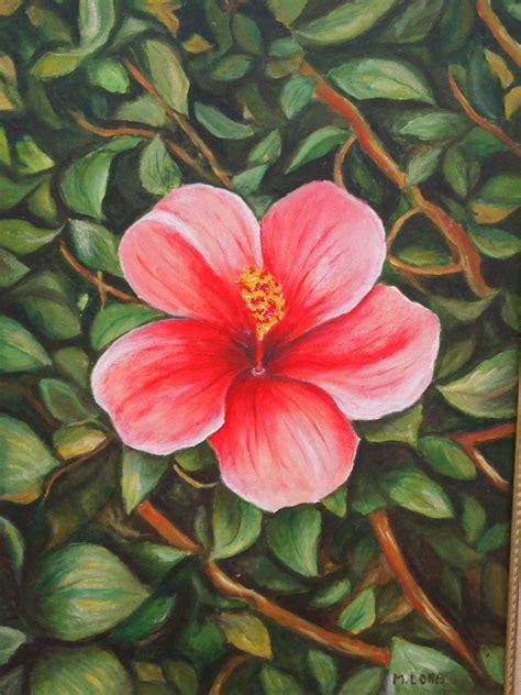 Flores nº15: Flor roja | Pinceladas