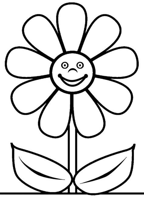 Flores para colorear   Dibujosparacolorear.eu