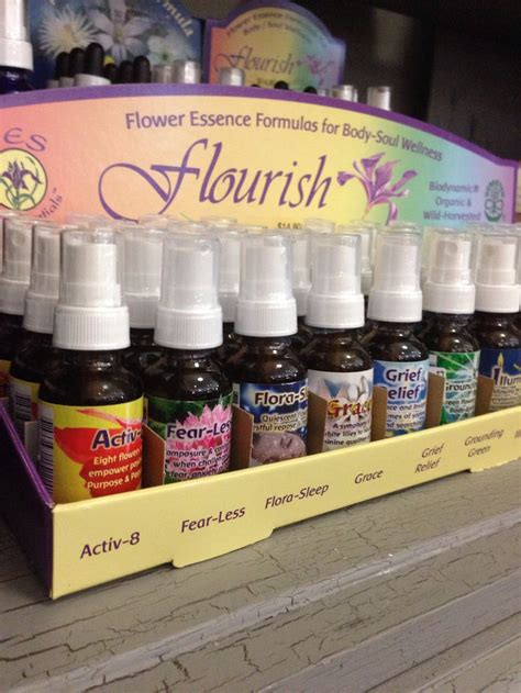 Flower essence formulas use energy from the flowers to ...