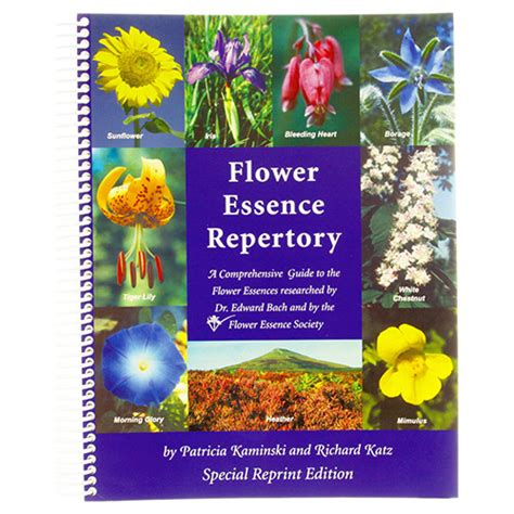 Flower Essence Repertory | Flower Essence Services