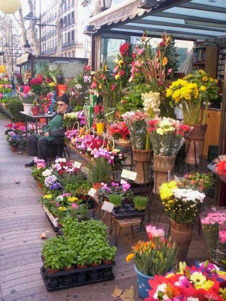 Flower Markets, down Las Ramblas, Barcelona | Photo