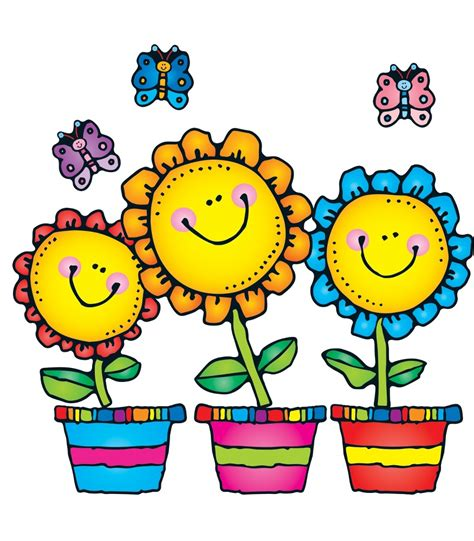 Flowers flower clipart flower accents flower graphics the ...