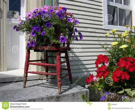 Flowers Outside House Royalty Free Stock Photography ...