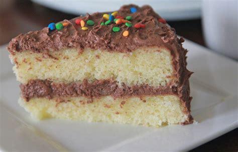 Fluffy, Moist Homemade Yellow Cake Recipe