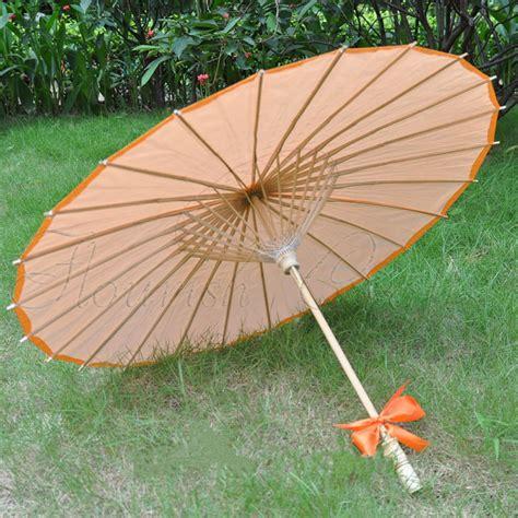 [ Fly Eagle ]100pcs Orange Japanese Oriental Paper Bamboo ...