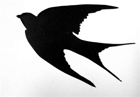 Flying Bird Silhouette Stencils | Amazing Wallpapers