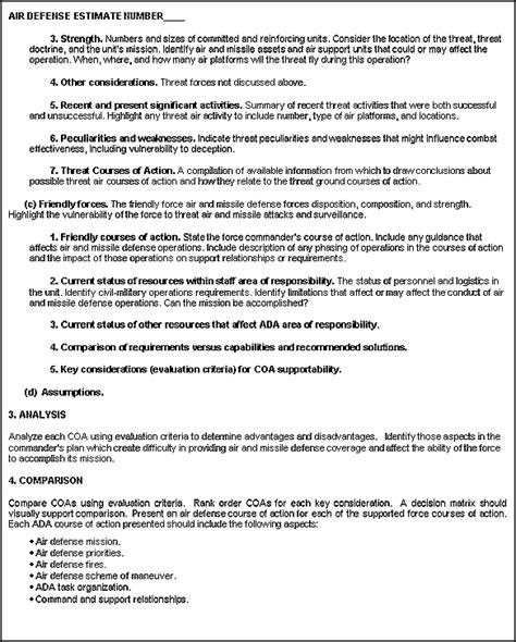 FM 44 100 Appendix B Army Air Defense Planning