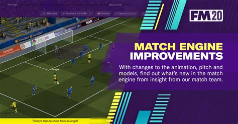 FM20 Match Engine Improvements | Football Manager 2019